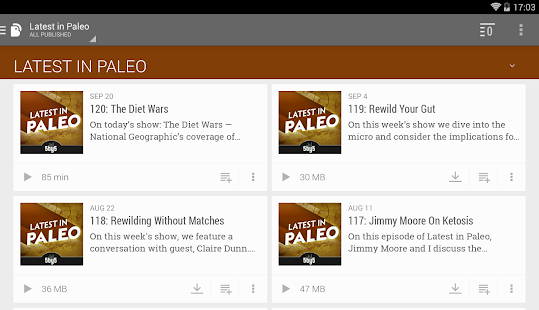 BeyondPod Podcast Manager- screenshot thumbnail