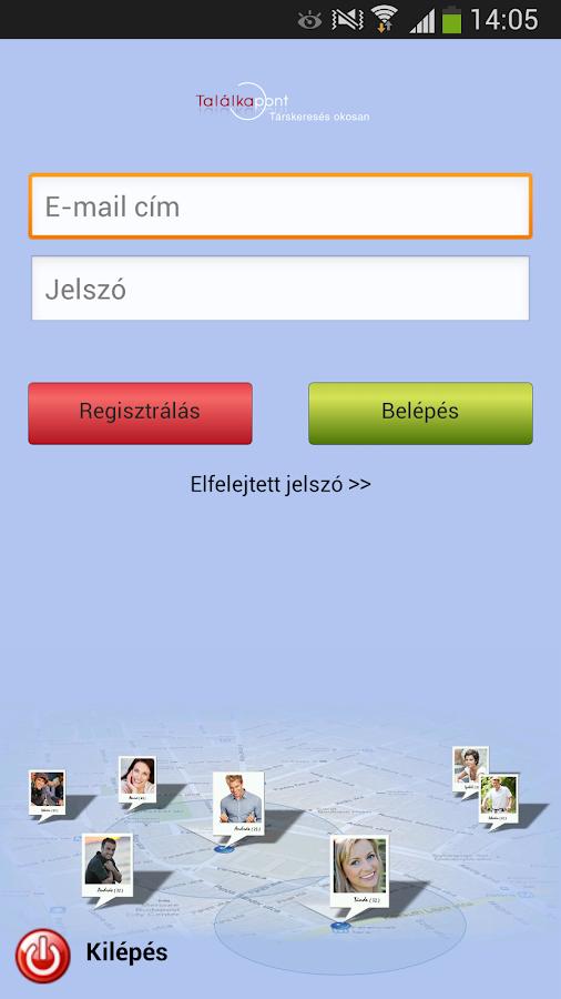 A mobil társkereső-tarskereses- screenshot