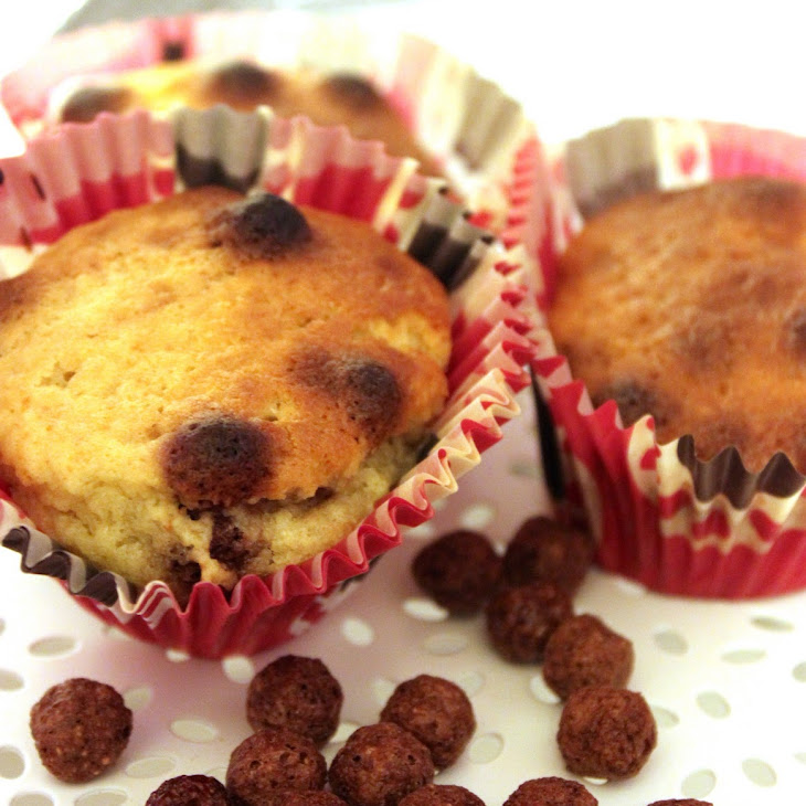 Chocolate Cereal Muffins