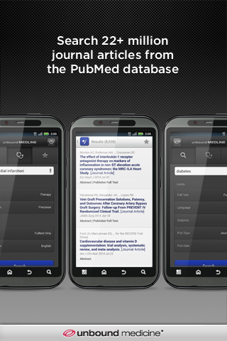 PubMed – Unbound MEDLINE - screenshot