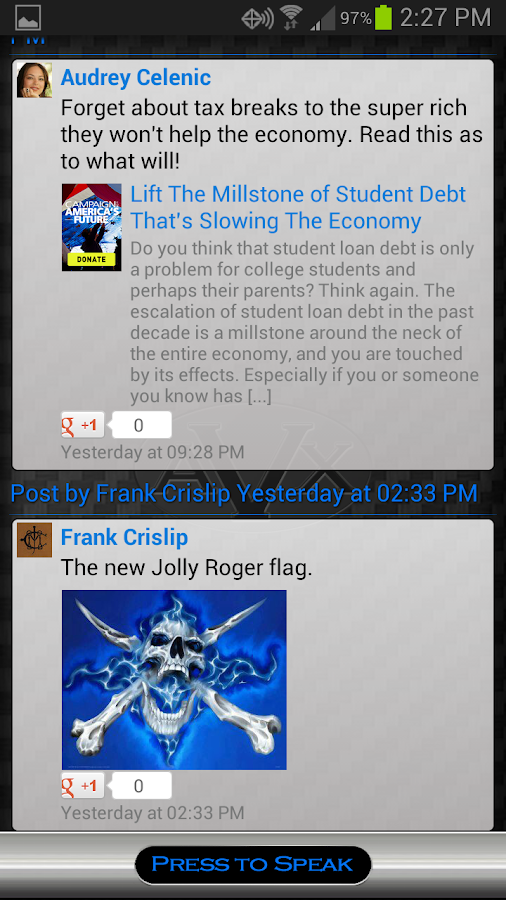 AVX - (Siri for Android) - screenshot