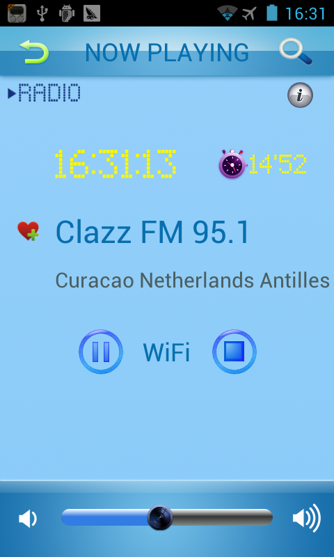 Netherlands Antilles Radio - screenshot
