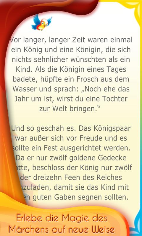 Dornröschen- screenshot