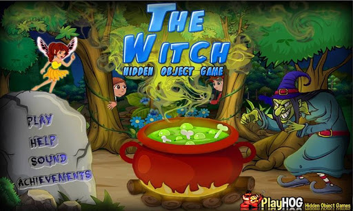 Witch Find Hidden Objects