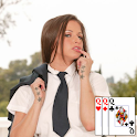 Sexy Strip Poker - Schoolgirls