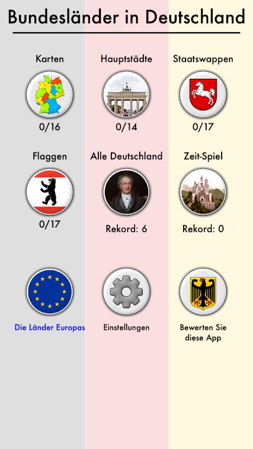 bundesl228nder von deutschland kartequiz � androidapps