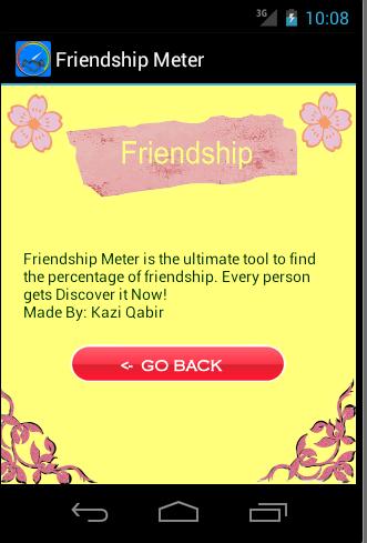 【免費工具App】Friendship Meter-APP點子