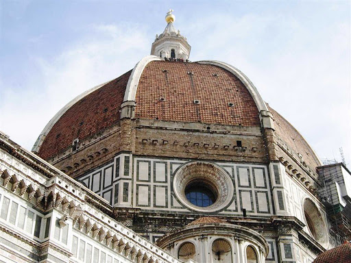 duomo-florence-italy - Santa Maria del Fiore Basilica, more widely known as the Duomo, is the cathedral of Florence, known for its distinctive dome. Its construction began in 1296.