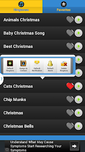 Popular Christmas Ringtones - screenshot thumbnail