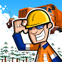 Snow Plow Truck Driver icon