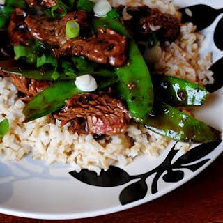 Beef with Snow Peas.
