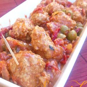 Spanish Meatballs Appetizer