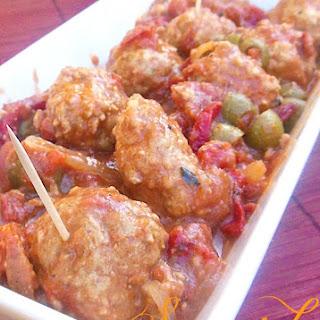 Spanish Meatballs Appetizer Recipe