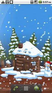 Christmas Snow-Globe LWP - screenshot thumbnail
