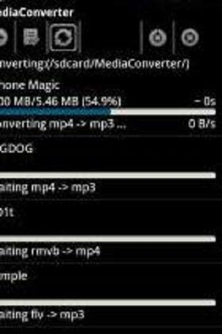 ffmpeg codec arm v7 vfp v3- screenshot