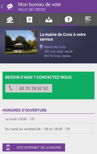 mon bureau de vote croix android apps on play