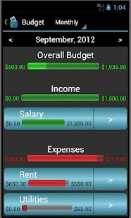 Pocket Financial Assistant - screenshot thumbnail