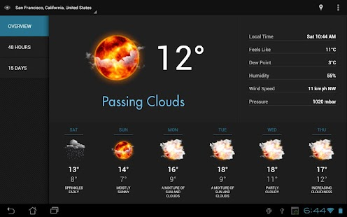 Eye In Sky Weather - Pro Key- screenshot thumbnail