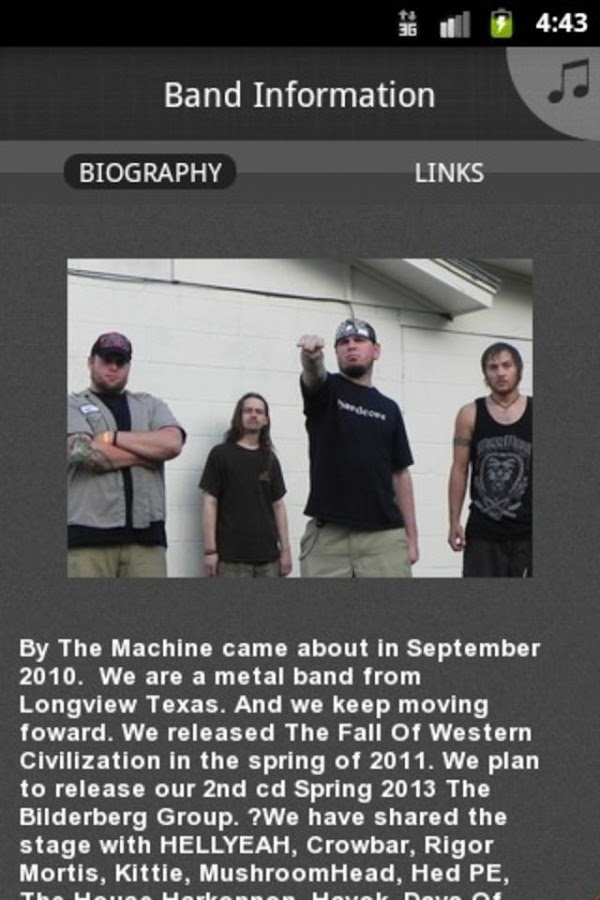 By The Machine - screenshot