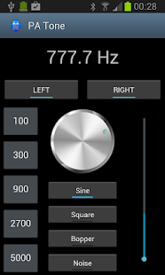 Pro Audio Tone Generator - screenshot thumbnail