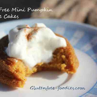 Grain Free Mini Pumpkin Pie Cakes