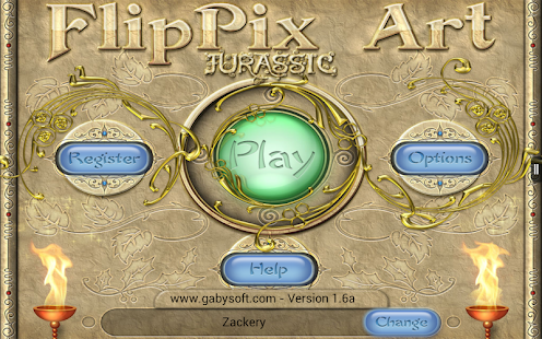 FlipPix Art - Jurassic- screenshot thumbnail