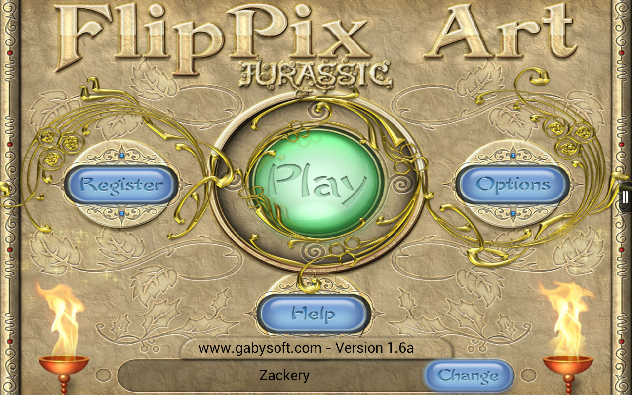 FlipPix Art - Jurassic- screenshot
