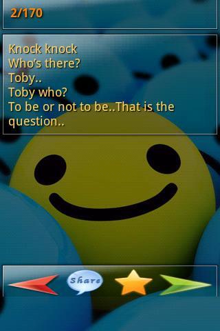 Funny Knock Knock Jokes - screenshot