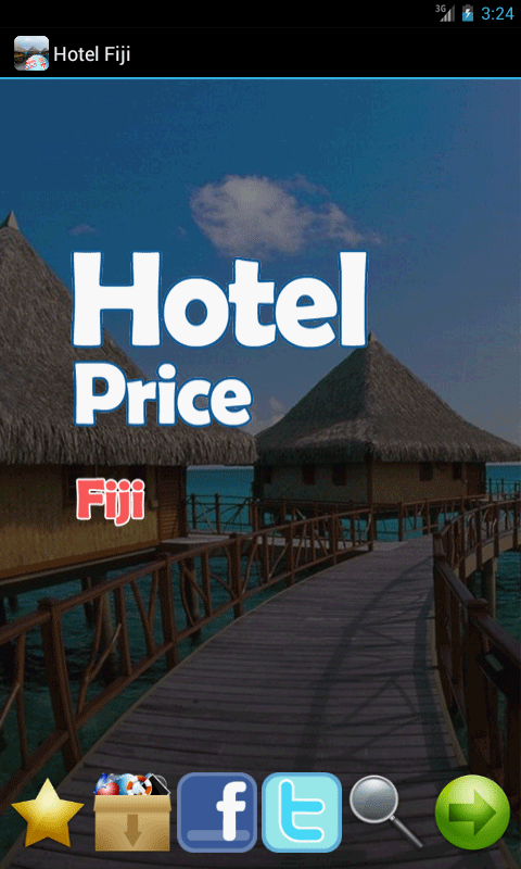 Hotel Price Fiji - screenshot
