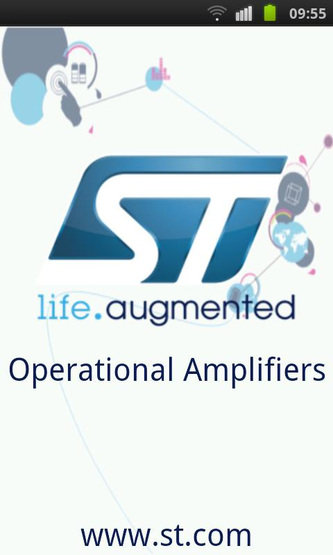 ST op-amps - screenshot