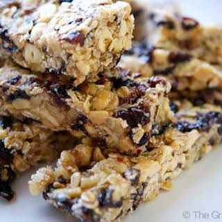 Clean Eating Nutty Coconut Granola Bars.