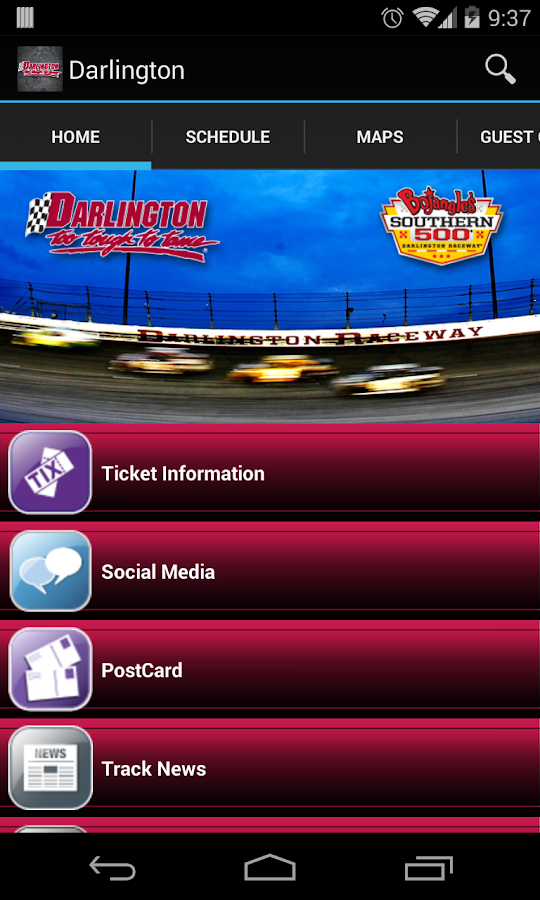Darlington Raceway - screenshot