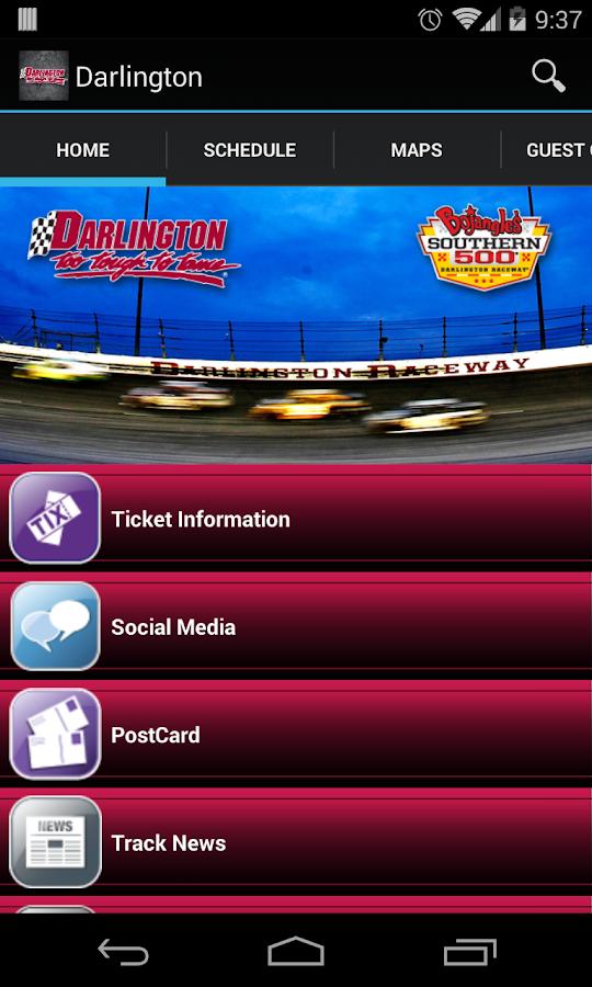 Darlington Raceway - screenshot