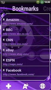 Cyanogen Purple ssLauncher - screenshot thumbnail