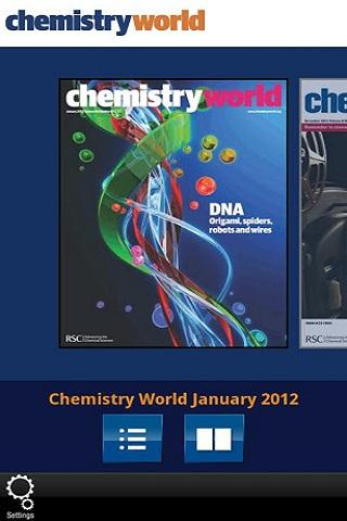 Chemistry World - screenshot