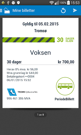 【免費交通運輸App】Troms Mobillett-APP點子
