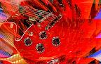 Fotos gratis - Artísticas - Guitarra Roja