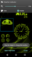 Screenshot of NeonClock legacy Livewallpaper