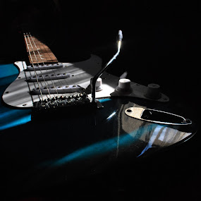 Guitar by Marko Petrović - Artistic Objects Musical Instruments ( music, musical instrument, tremolo, sound, strings, guitar, instrument, floyd, object, musical )