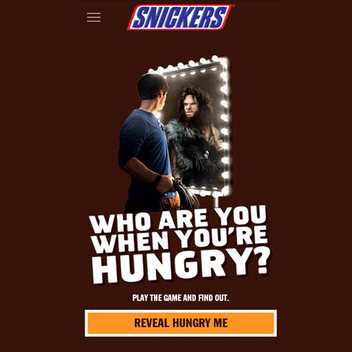 WHO ARE YOU WHEN YOU'RE HUNGRY LOGO-APP點子