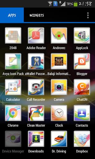 Avya Icon Pack