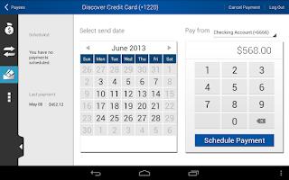 Screenshot of SAFE Credit Union