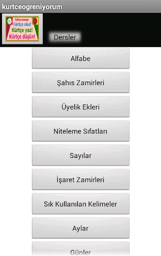 Kürtçe Öğreniyorum