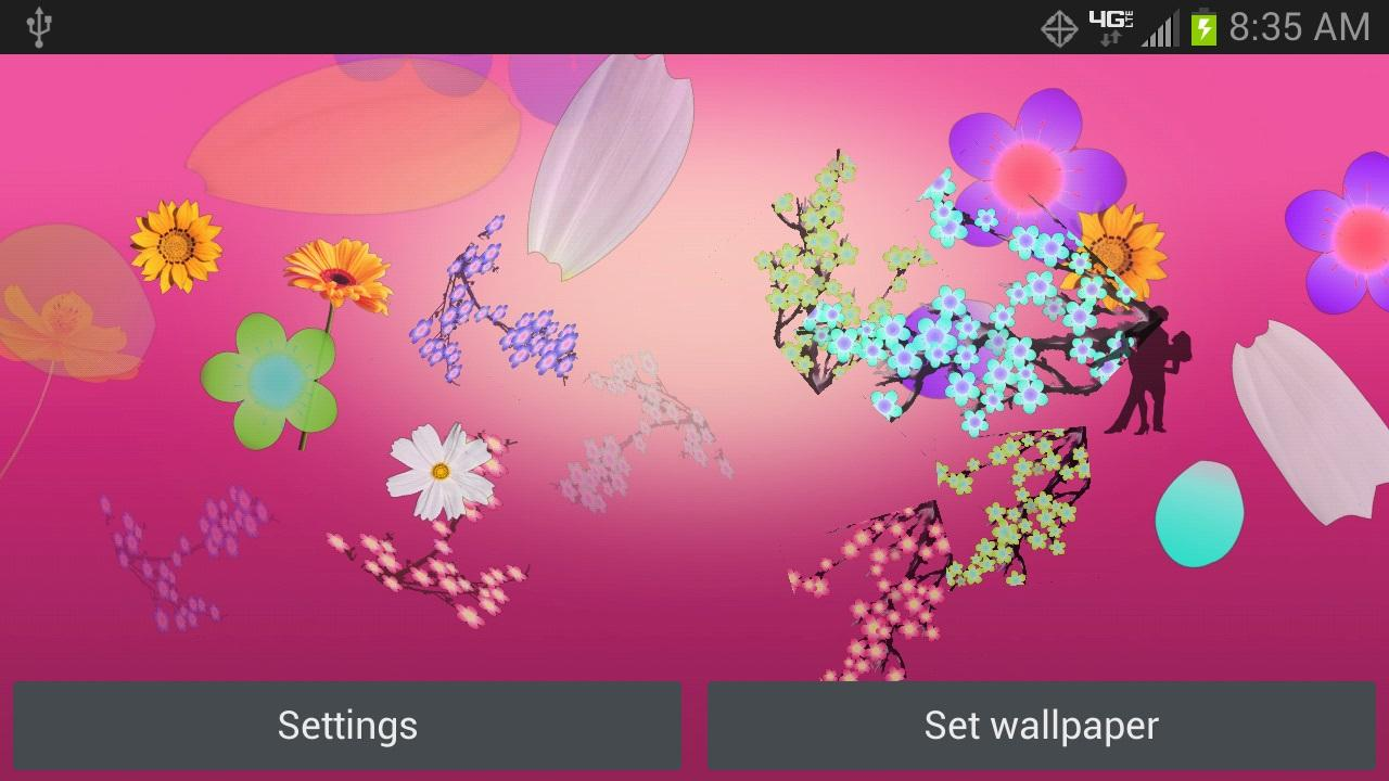 Spray Flowers- screenshot