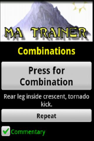 Martial Arts Trainer - screenshot