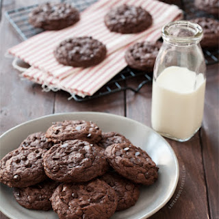 Double Chocolate Chipotle Cookies.