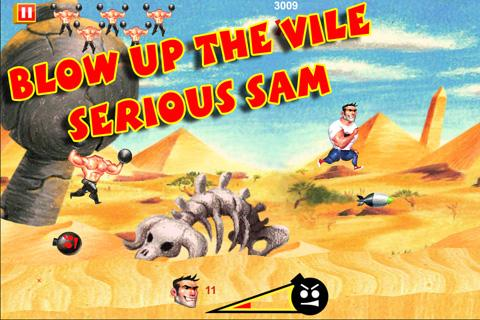 Serious Sam: Kamikaze Attack!- screenshot