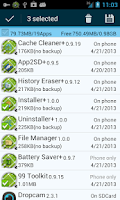 Screenshot of Uninstaller +