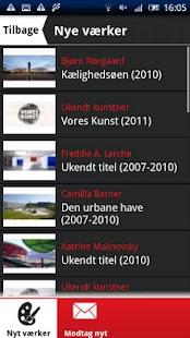 Kunst på stedet- screenshot thumbnail