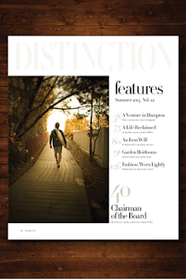 Distinction Magazine- screenshot thumbnail
